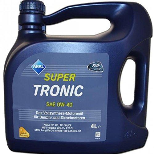 aral supertronics 0w 40 motoren l 4 liter abmarac. Black Bedroom Furniture Sets. Home Design Ideas