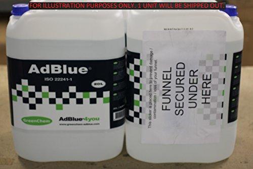 greenox adblue 20 liter abmarac. Black Bedroom Furniture Sets. Home Design Ideas