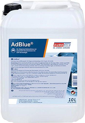 eurolub adblue synthetischer harnstoff 10 liter abmarac. Black Bedroom Furniture Sets. Home Design Ideas