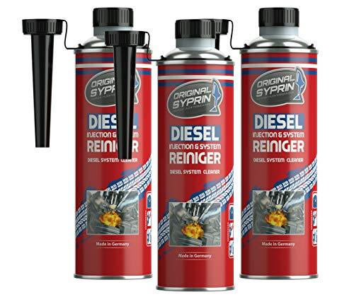 syprin original diesel additiv 3er set f r dieselmotoren dieselsystem injektoren diesel. Black Bedroom Furniture Sets. Home Design Ideas